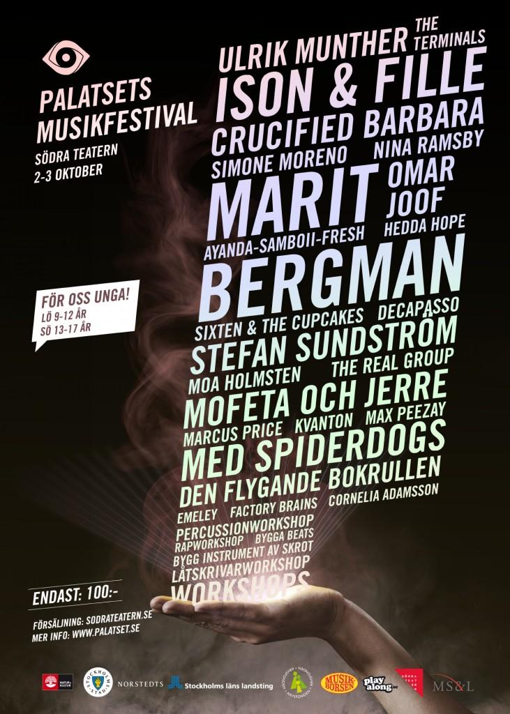 Poster-Musikfestival